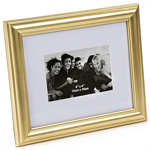 Gold Color Picture Frame for Landscape Prints