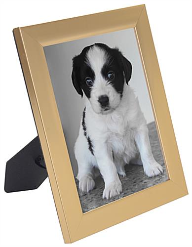 4 x 6 gold photo frame portrait or landscape view
