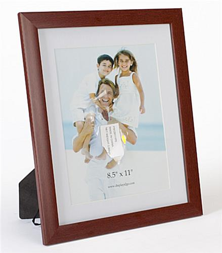 85 X 11 Diploma Frame W Removable Mat