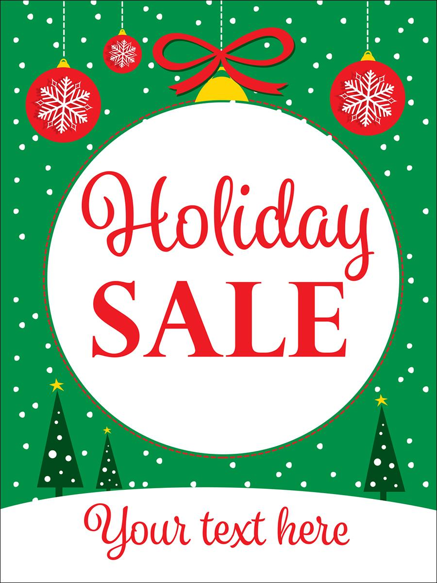 18 x 24 holiday sale window poster jolly traditional for 18 x 24 window