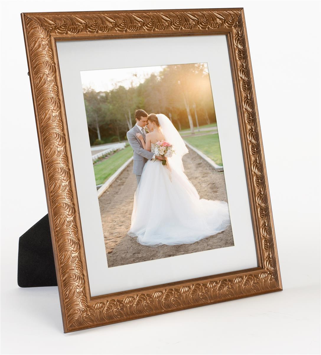 Ornate Picture Frame Bronze Decorative Trim