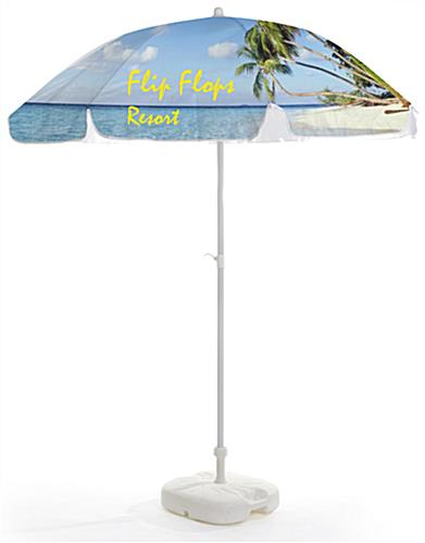 Commercial Patio Umbrella is Customizable