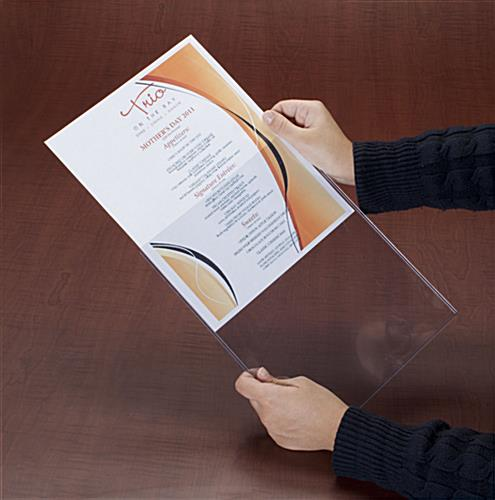 Plastic Poster Sleeve For Business Use