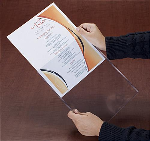 Plastic Poster Sleeve