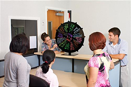 Spin the Wheel Game for Office Activities