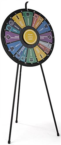 Contest Spinning Wheel, Black Finish