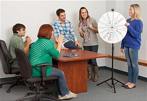 Dry Erase Prize Wheels Are Compatible With Wet And Dry Erase Markers