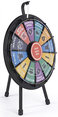 Mini Spinning Raffle Wheel for Trade Shows