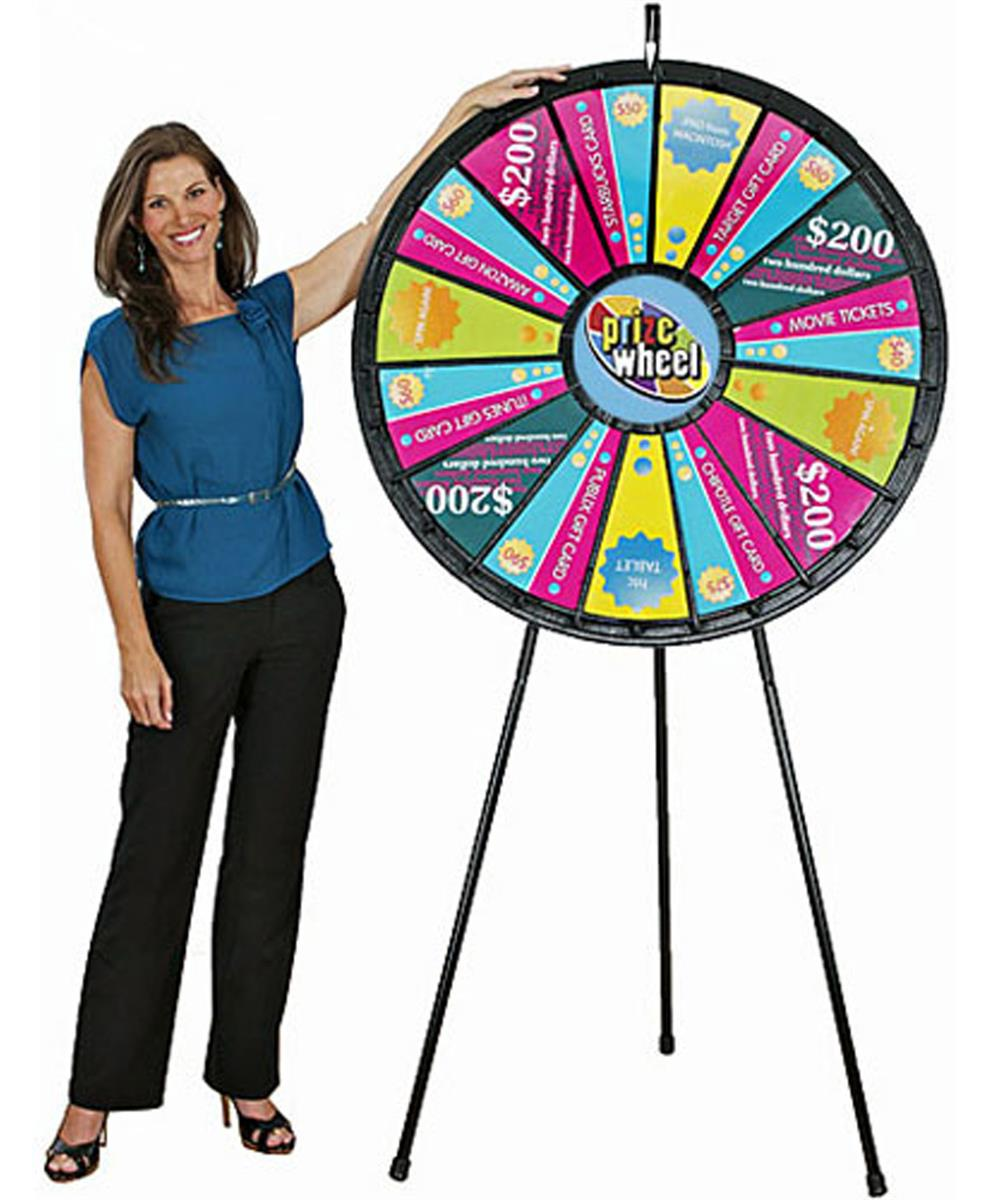 Spinning Game Wheel Description