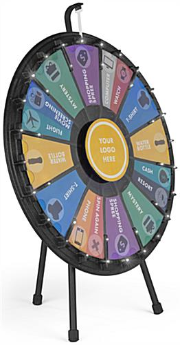 LED Contest Wheel with Lights