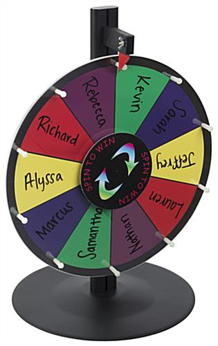 Spin to Win Prize Wheel with Marker