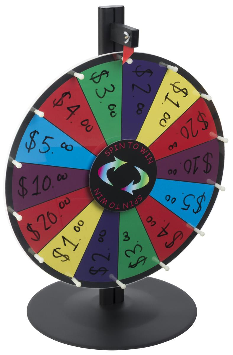 Game Spin Wheel Tabletop Use