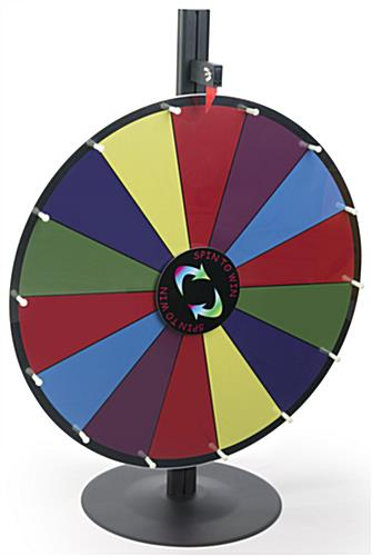 Dry Erase Spin Wheel Game for Giveaways