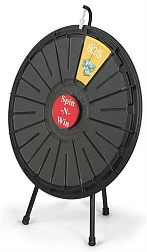 spin the wheel | clicker and printout slots, Powerpoint templates