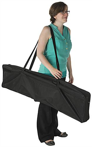 Collapsible Magazine Stand with Carrying Bag