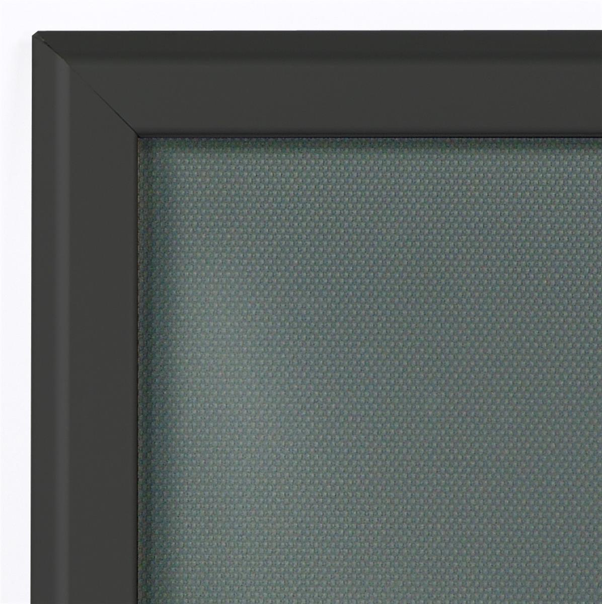 Quick Clip Poster Frames in Black Fit 18 x 24 Prints
