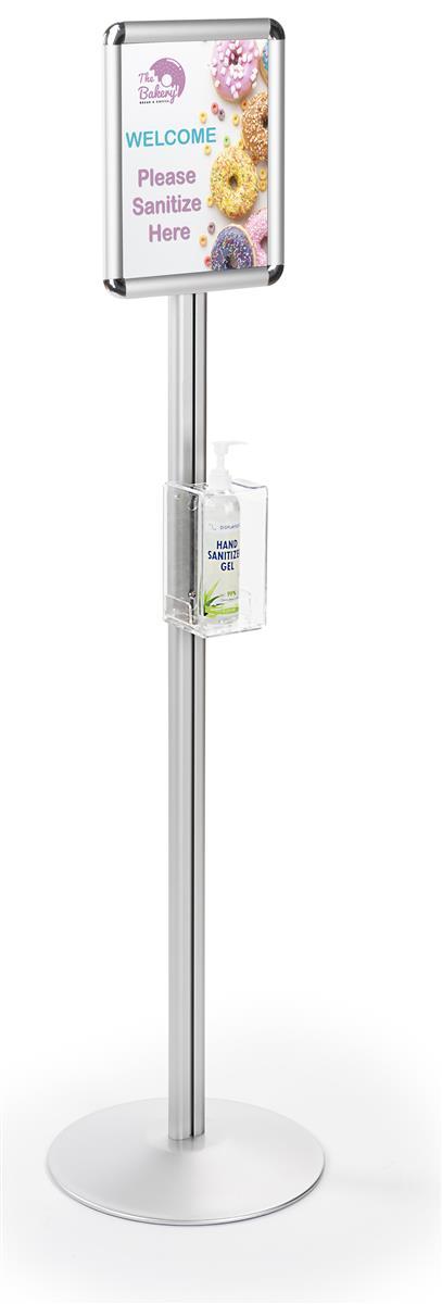 Hand Sanitizer Dispenser Stand Fits 8 Oz To 12 Oz Bottles