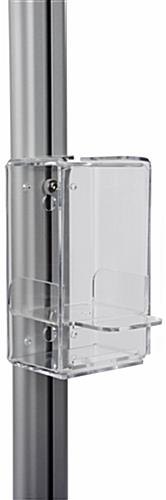 Floor Standing Hand Sanitizer Holder with Drip Tray