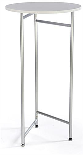 Attrayant 44u201d Tall Retail Table With Aluminum Legs ...