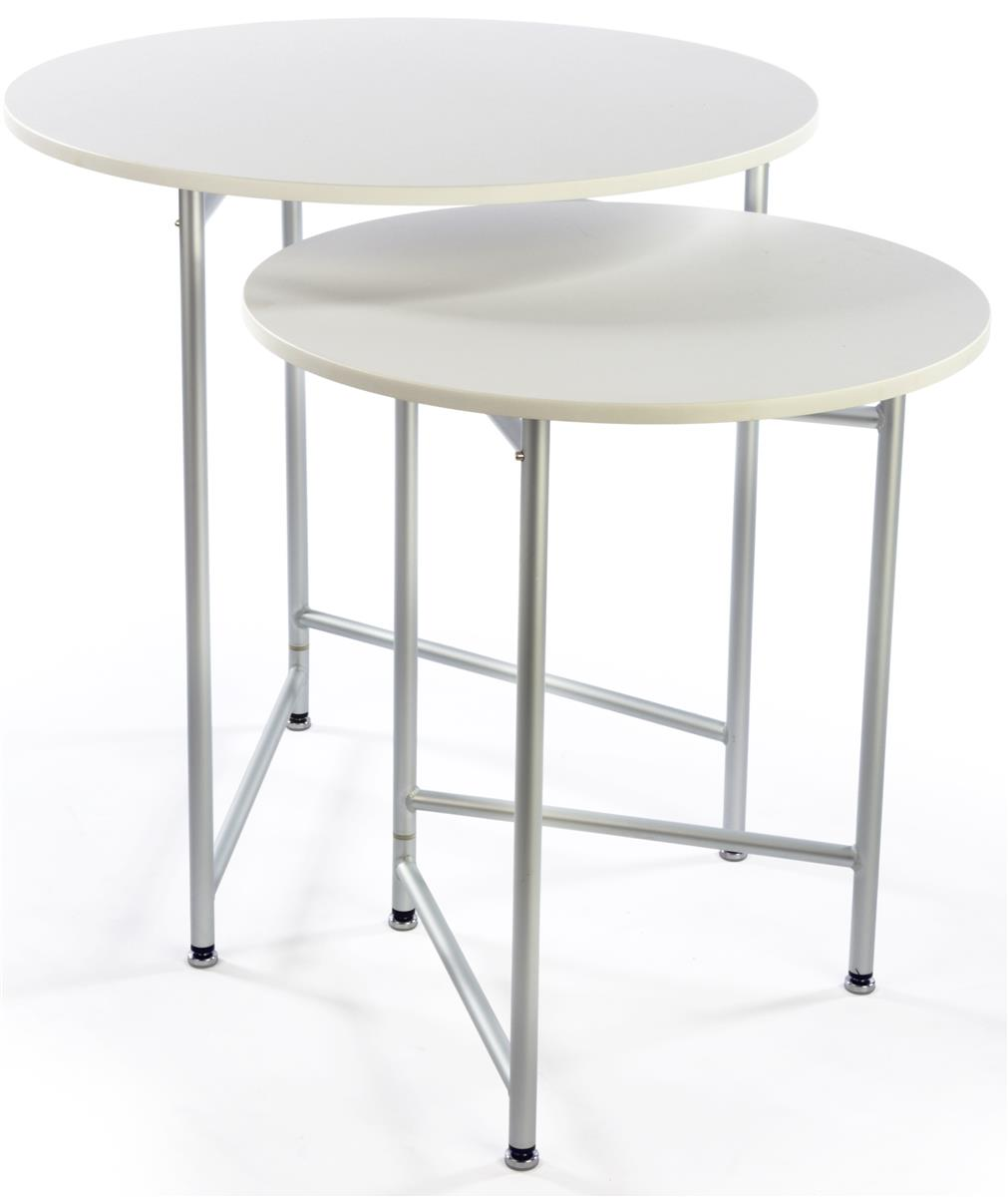 Round retail table set 2 units included for Display table
