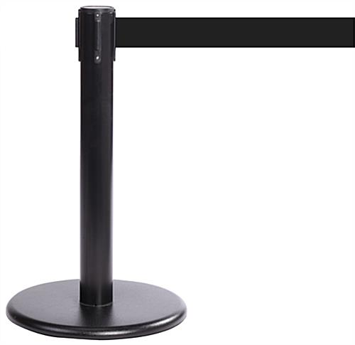 "Mini Retractable Stanchion, 24"" High"