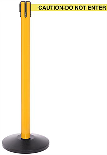 Yellow High Visibility Barrier