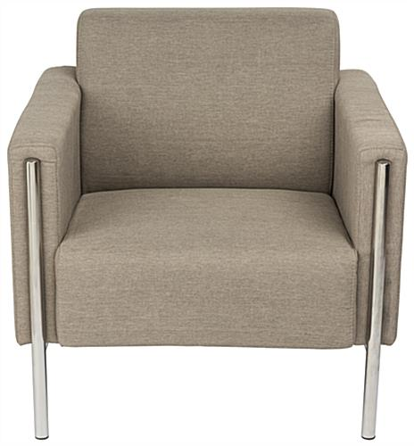 Tan Modern Reception Chair