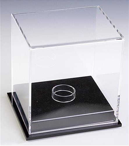 Baseball Display Case: Includes Removable Riser