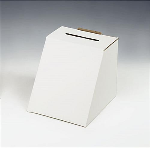 "Super Cheap Cardboard Ballot Box For 5"" x 7"" Graphic"