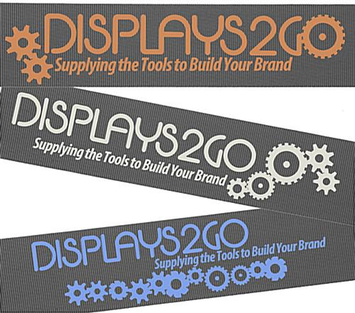 Stanchion with Gray Printed Belt & 1 Color Graphics