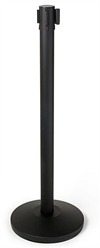 Steel Stanchion with Black Printed Belt