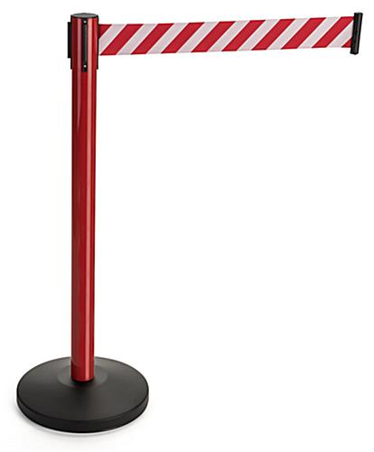 Reflective Belt Weighted Stanchions High Visibility Retractable