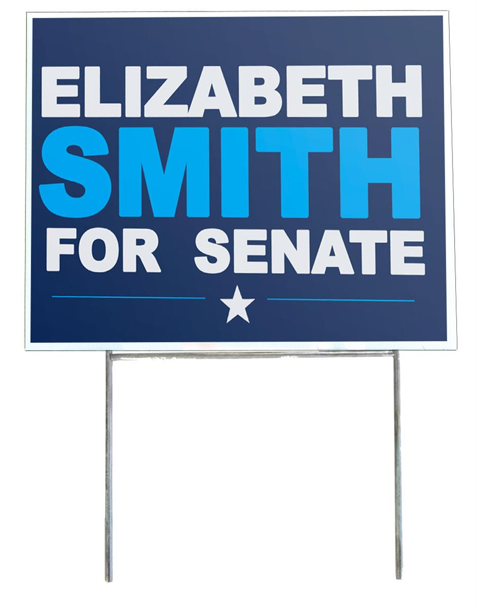 Lawn Sign Frames Yard Display For