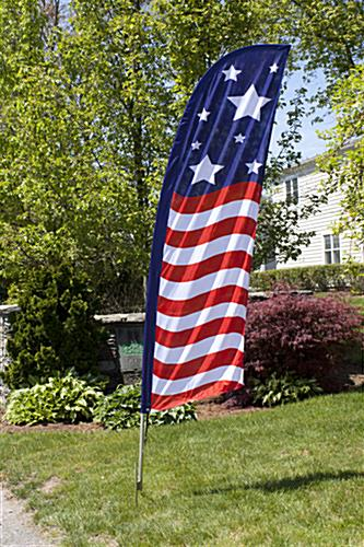 Outdoor Stars & Stripes feather banner