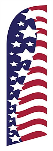 american flag feather flag replacement banner only rh displays2go com american flag graphic for wk2 american flag graphic art