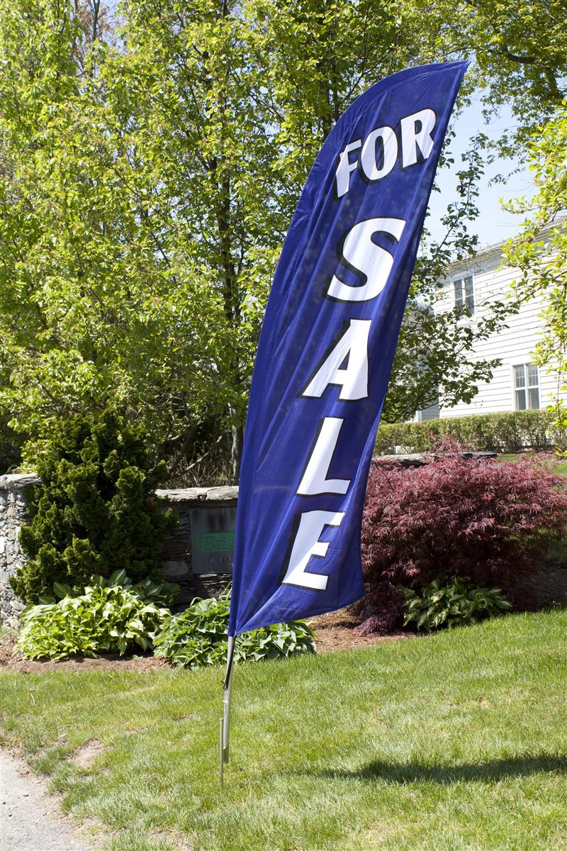 For Sale Feather Flag Auto Dealership Amp Real Estate Sign