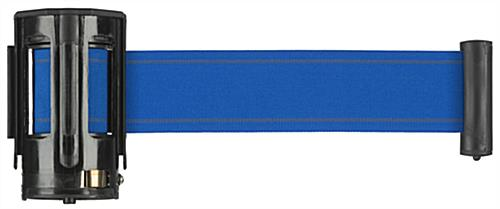Blue Crowd Control Belt for QueuePole.Deluxe Stanchions