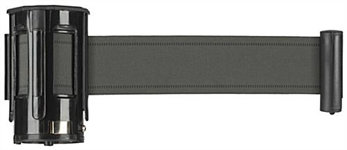 Gray Crowd Control Belt with 4 Way Adaptor