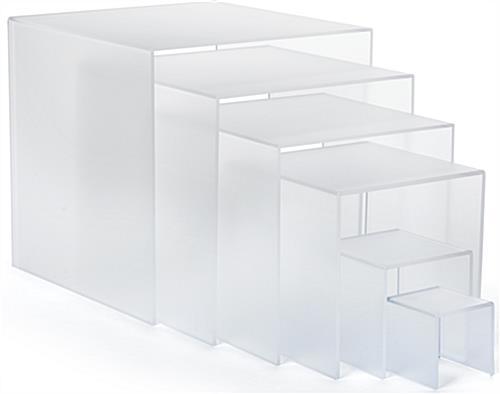 Acrylic Riser Stands for Merchandise