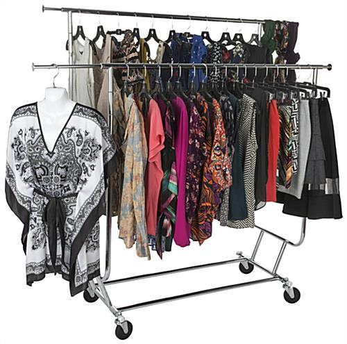 Retail Collapsible Garment Rack
