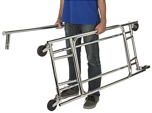 Lightweight Collapsible Garment Rack