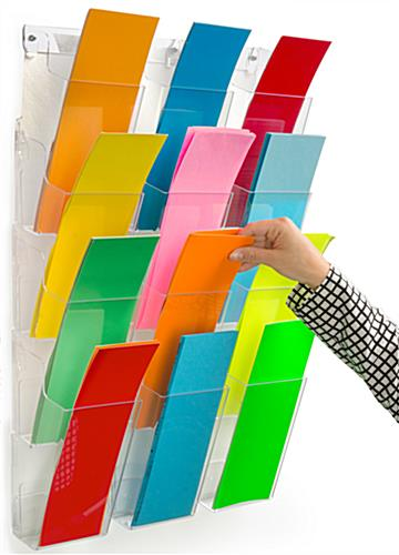 Wall Pamphlet Holder