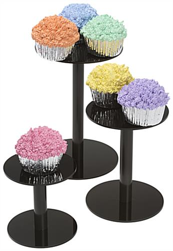 Food Service Countertop Display Pedestals