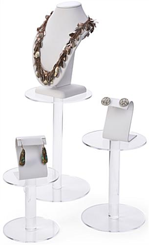 Retail Acrylic Pedestal Risers