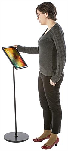 Advertising 8.5 x 11 Black Snap Frame Stand