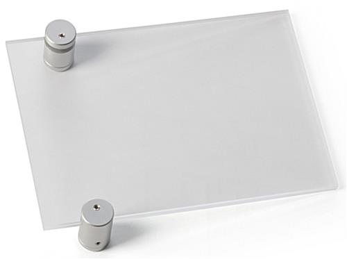 Door Signs 7 X 5 Signage Holder W Acrylic Plates
