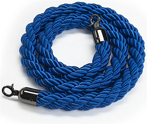 Durable Blue Nylon Stanchion Rope