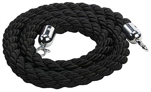 Black Nylon Twisted Rope