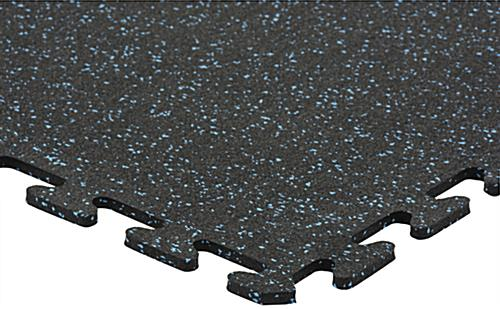 Interlocking Rubber Floor Tiles Recycled Material