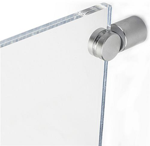 ... Sign Holder for Corridor - Double Sided ... - Sign Holder For Corridor Clear Acrylic